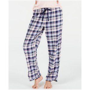 Jenni Cotton Printed Pajama Pants - Pretty Plaid